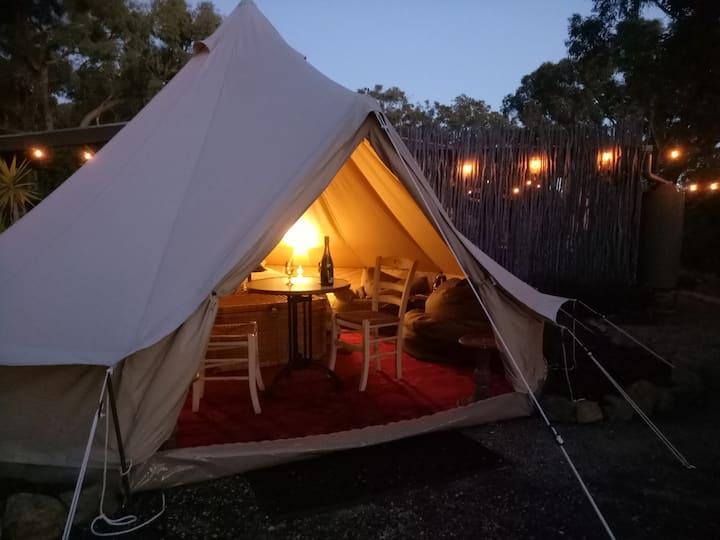 Glamping in the Macedon Ranges