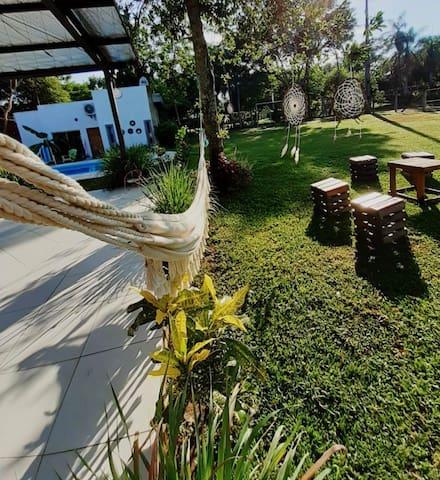 Experiencia en San Ber(piscina, cancha y parrilla)