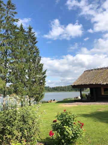 Country home Otepää Vidrike lake