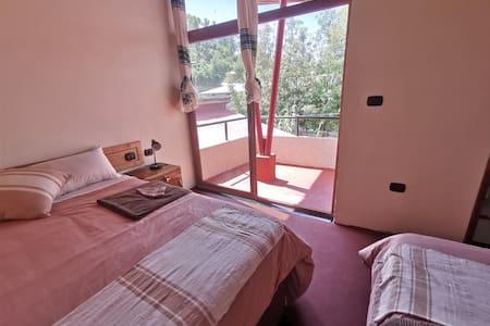 Traditional Lalibela apartment top triple