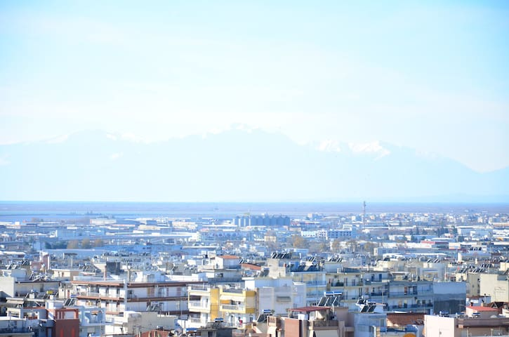 Small Luxury#apartment with balconies/great view - Thessaloniki - Apartment
