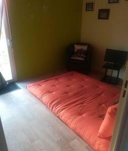 Chambre individuelle dans maison plein pied