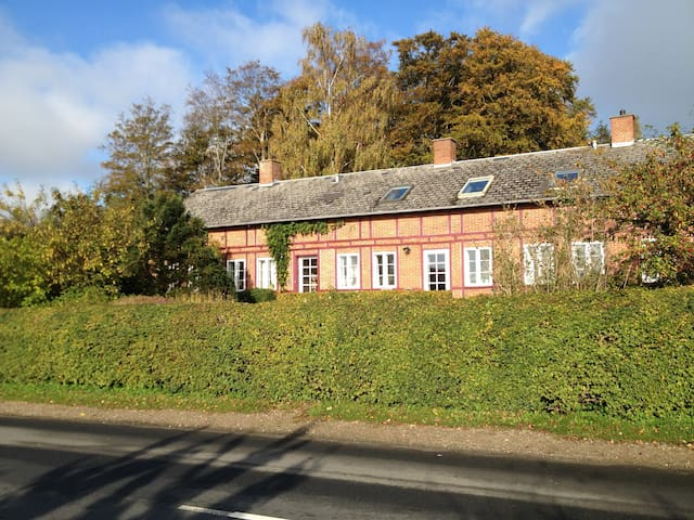 """Rosenly"" the house covered with roses - Svendborg - Vila"
