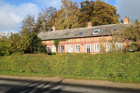 """Rosenly"" the house covered with roses - Svendborg - Casa de camp"