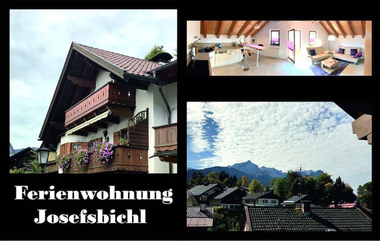 Ferienwohnung Josefsbichl bei Tannenhütte Schalmei