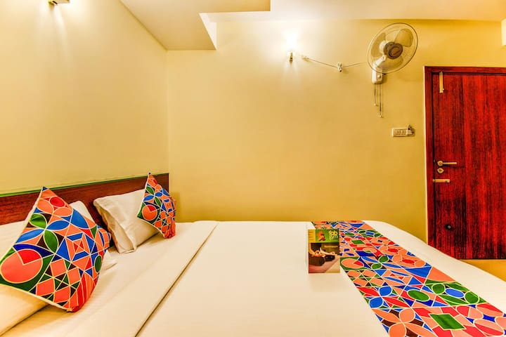 Charming Deluxe Rooms {Mysore Junction Railway Station, Mysore}