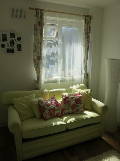 Double bedroom with pull out sofa