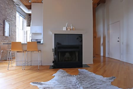 1 Bdrm Loft (warehouse) Condo - Chicago - Loft