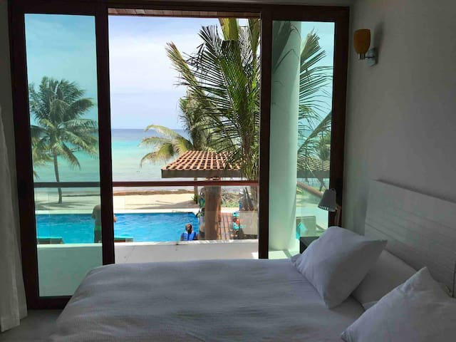 A room with a view...  Wake up to rhis incredible view. Beautiful  sunrises from your bed