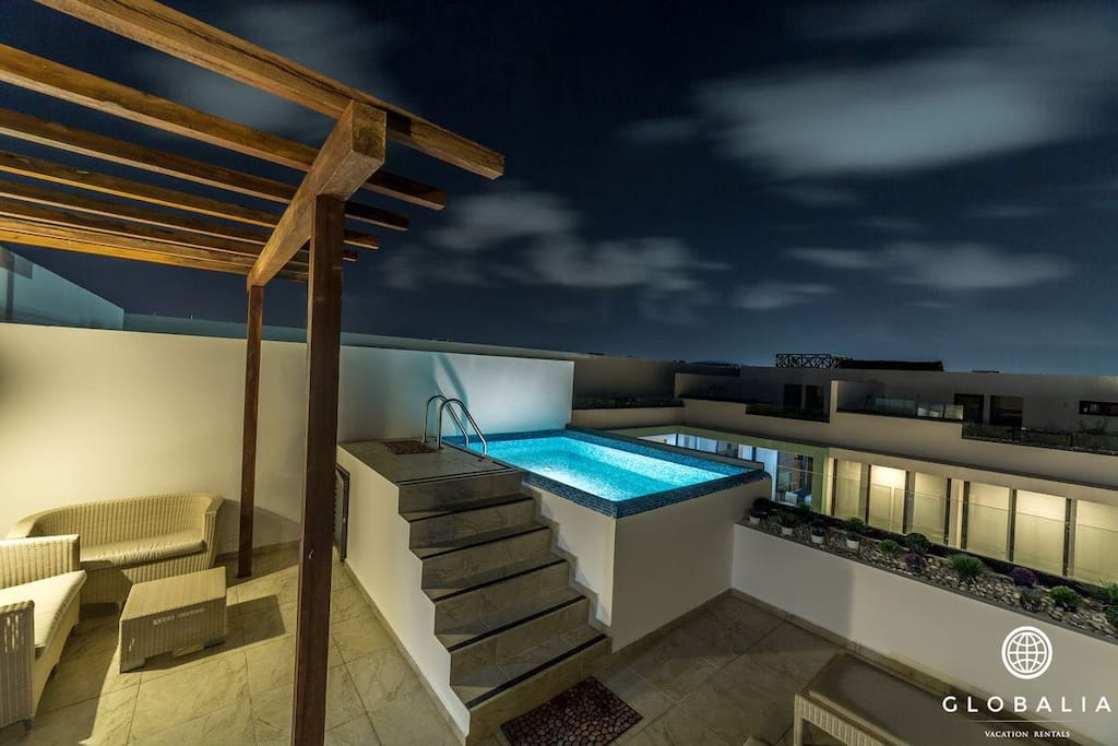 Private Terrace and Pool