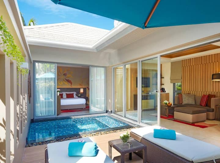 Patong's only One Bed Pool Villa!   芭東唯一單臥泳池別墅