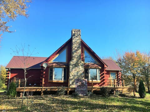 Log Home Getaway - Entire fully finished basement