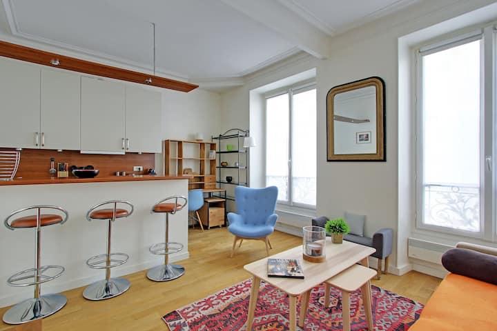 Lovely 1 bedroom Saint Germain des Prés