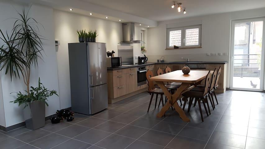 Maison spacieuse avec terrasse sud au calme 4* - Vœgtlinshoffen - Casa