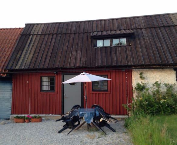 Mysig lägenhet på Östergarnslandet