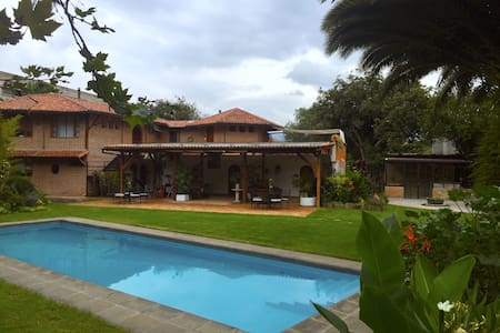 Rukka Lodge is just 20 min from Quito Airport - Quito - Boutique-Hotel