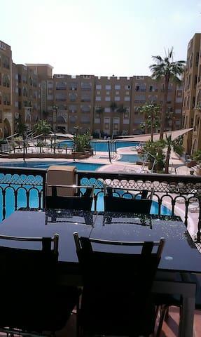 Résidence folla Aqua Resort - Chott - Lejlighed