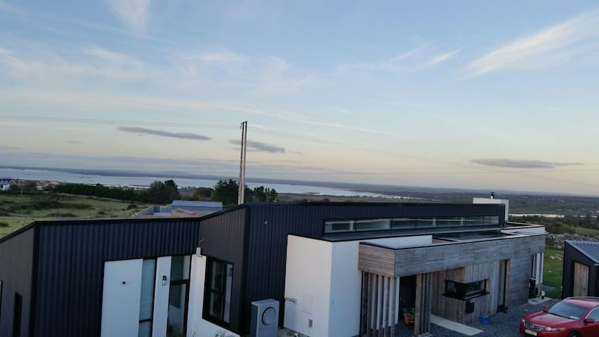 Wild Atlantic Way Rest, panoramic views of Galway