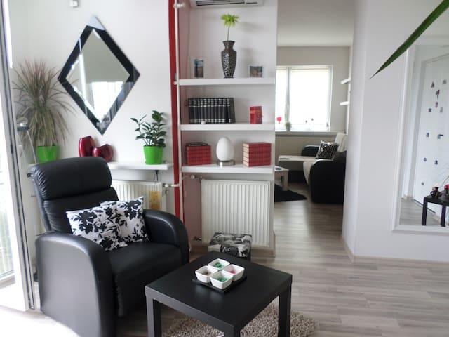 Urban, stylish, light apartment