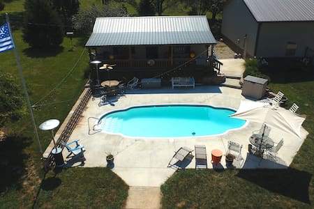 1 of a Kind Guesthouse on 4 Acres No Addit'l Fees