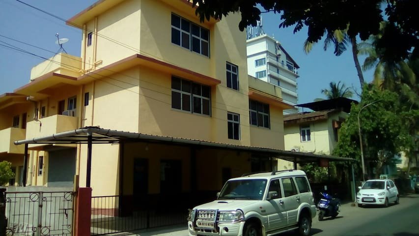 Front view of premises