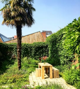 Spacious ground floor apartment with garden - Anvers