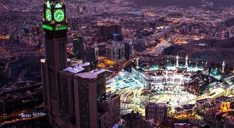Deluxe Suite With Views At Makkah