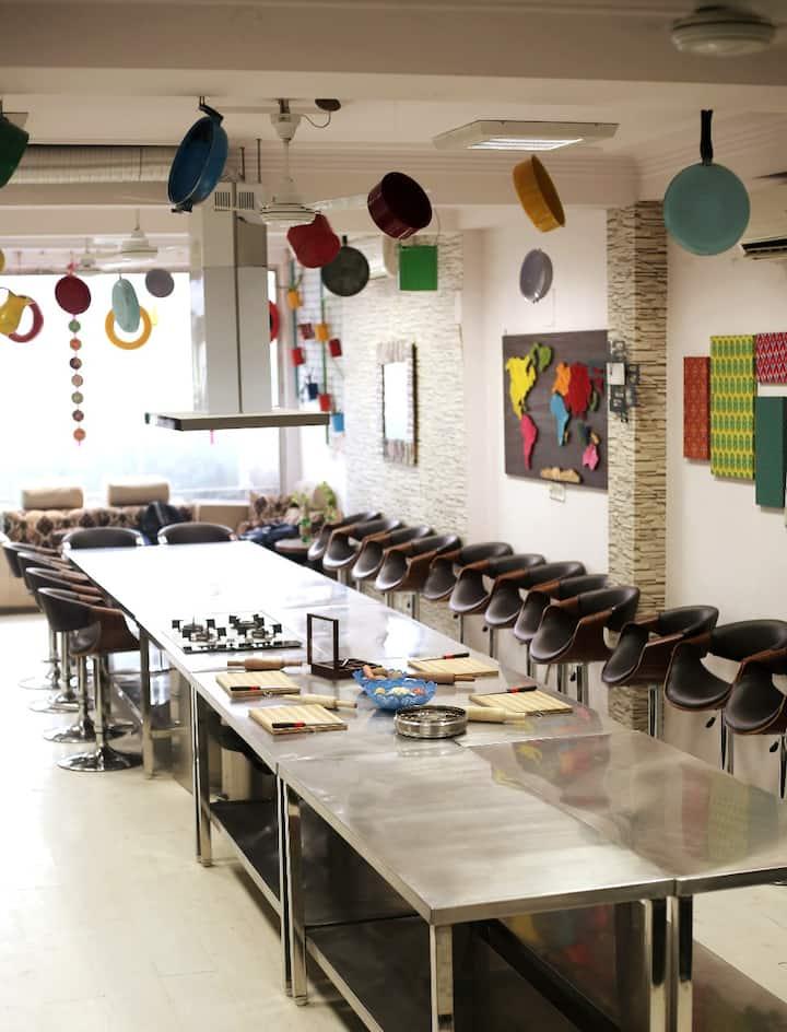 The Location - Tastesutra Studio