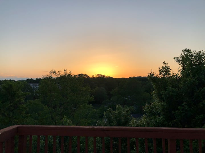 Sunsets Overlooking C'ville