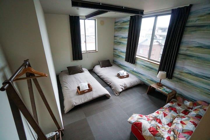 B&B YUIGAHAMA/2人部屋/角部屋
