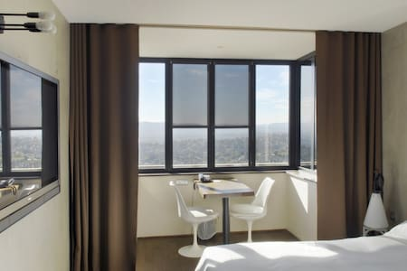 Lovely and stylish room with panoramic view