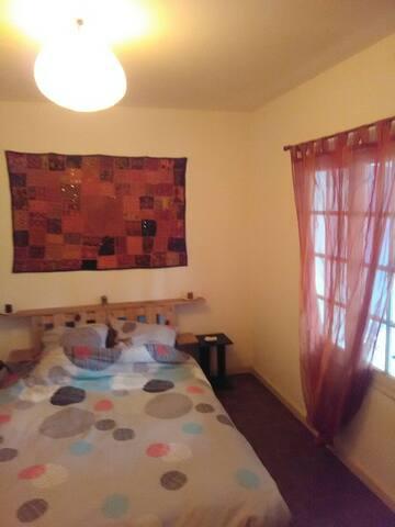 1 chambre ou maison entière au calme.(6 couchages)