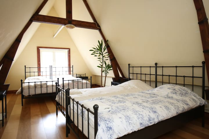 Fun Attic for 4 Persons in Center - Harlem - Byt