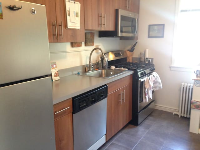 Cozy Apartment near Rutgers and NYC - Highland Park - Pis