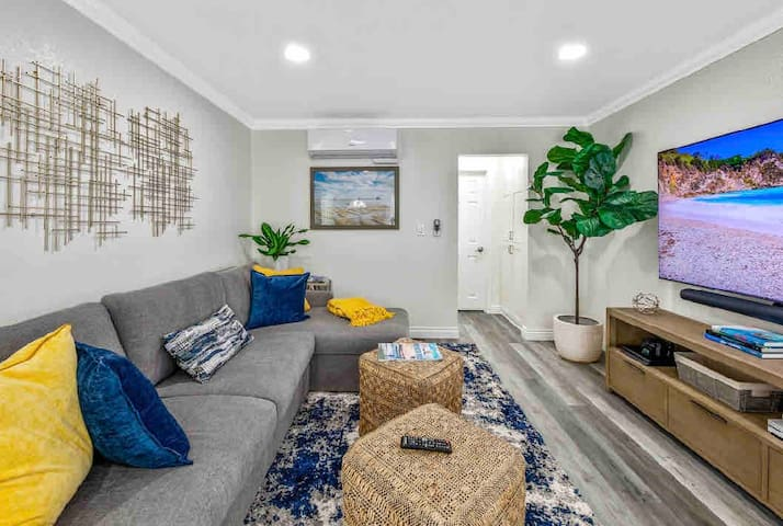 Beautifully remodeled living room