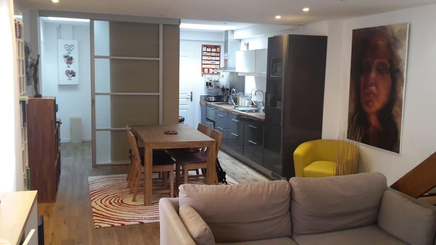 Duplex au coeur de la ville - Fontainebleau - Apartment