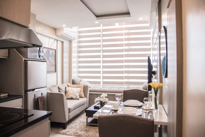 Cozy one-bedroom Penthouse loft in Ortigas Center