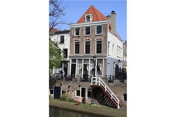 Design canal apartment, Oudegracht! - Utrecht - Appartement