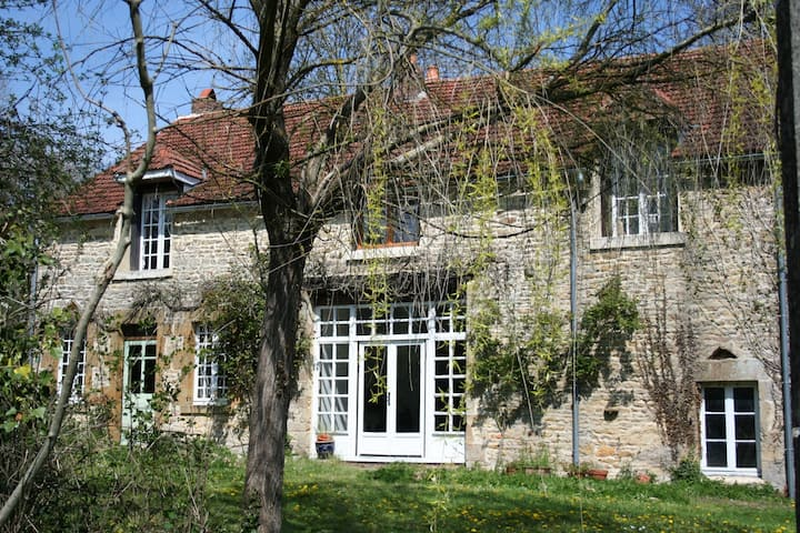 Authentic French Farmhouse in Rural Bourgogne