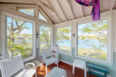 Stunning Dog-Friendly Home on the Bay w/ Fantastic Views & Water Access!