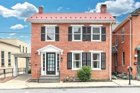 """ The Rowe House"" Circa 1819"