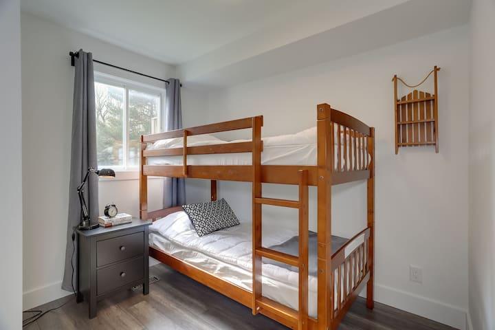 Main Floor - Bunk Beds. Bedroom 3