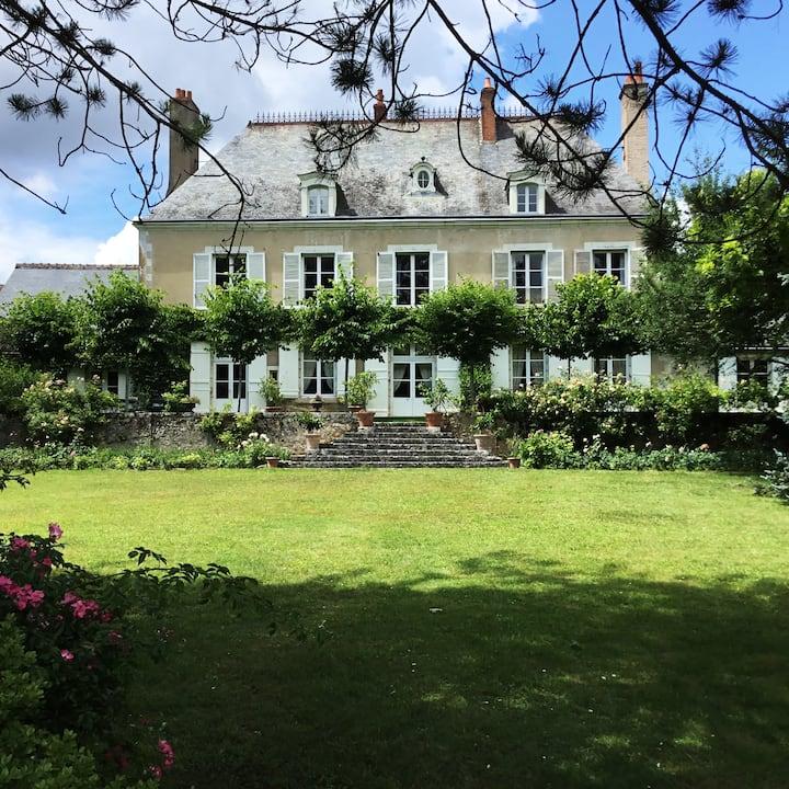Maison XVIIIe au cœur des Châteaux de la Loire
