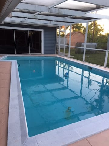 Pool home paradise in Palm Bay FL