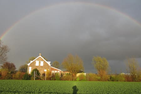 Overnachten in landelijke sfeer in B&B Karins Hof - Zaamslag - Huis