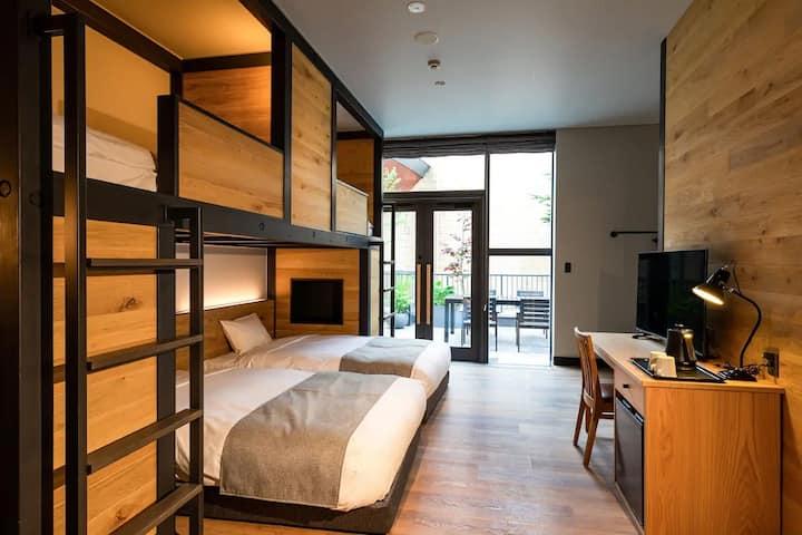 HOTEL KARUIZAWA CROSS / Patio Superior