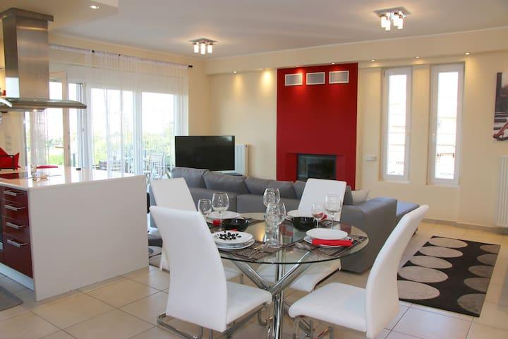 Sunset Luxury apartment Athens