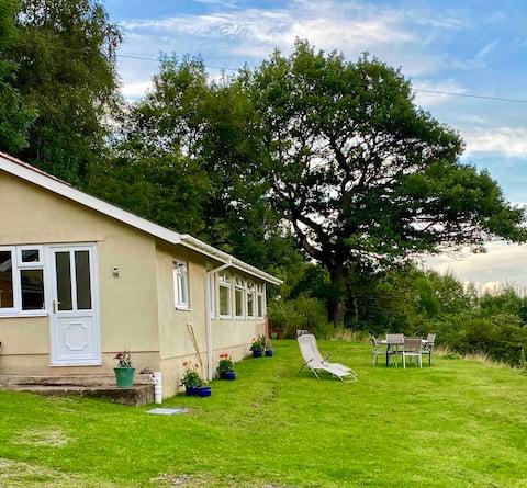 2 bedroom bungalow set in 18 acres