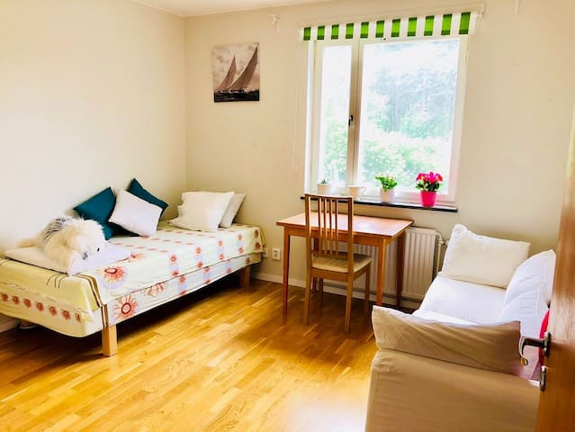 Private Room for rent near Stockholm City 1