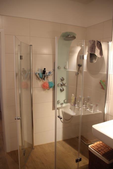 die tolle Dusche